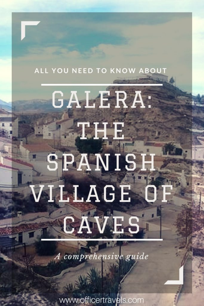 One of Spain's prettiest rural villages - Galera the village of caves! | #caves #spain #travel #guides #pretty #accommodation #destination #europe #spanish