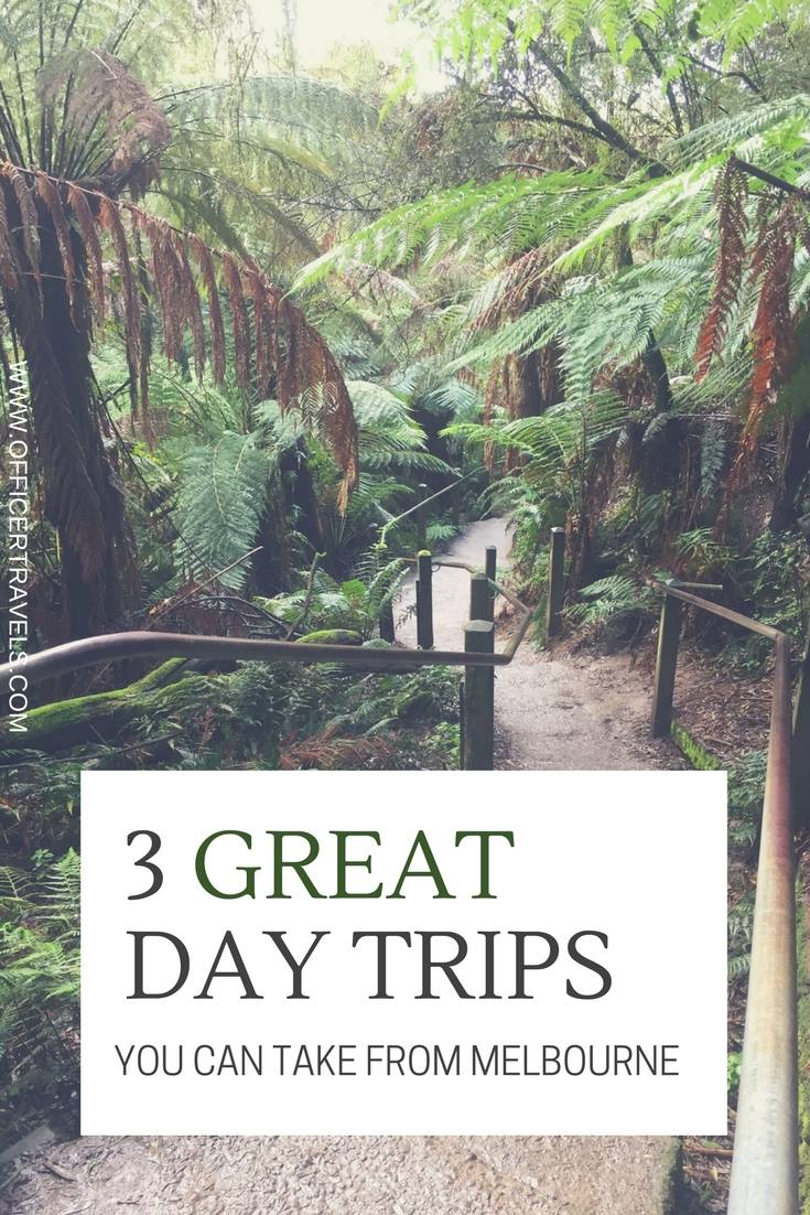 3 amazing day trips from #Melbourne | #Daytrips #Australia #backpacking #holidaytips #Nature #Hikes