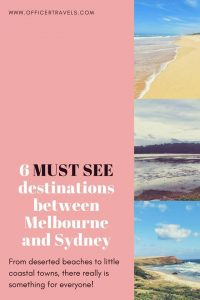 6 Beautiful locations you HAVE to see between #Melbourne and #Sydney   #NSWtips #visitmelbourne #Travel #vacation #beaches