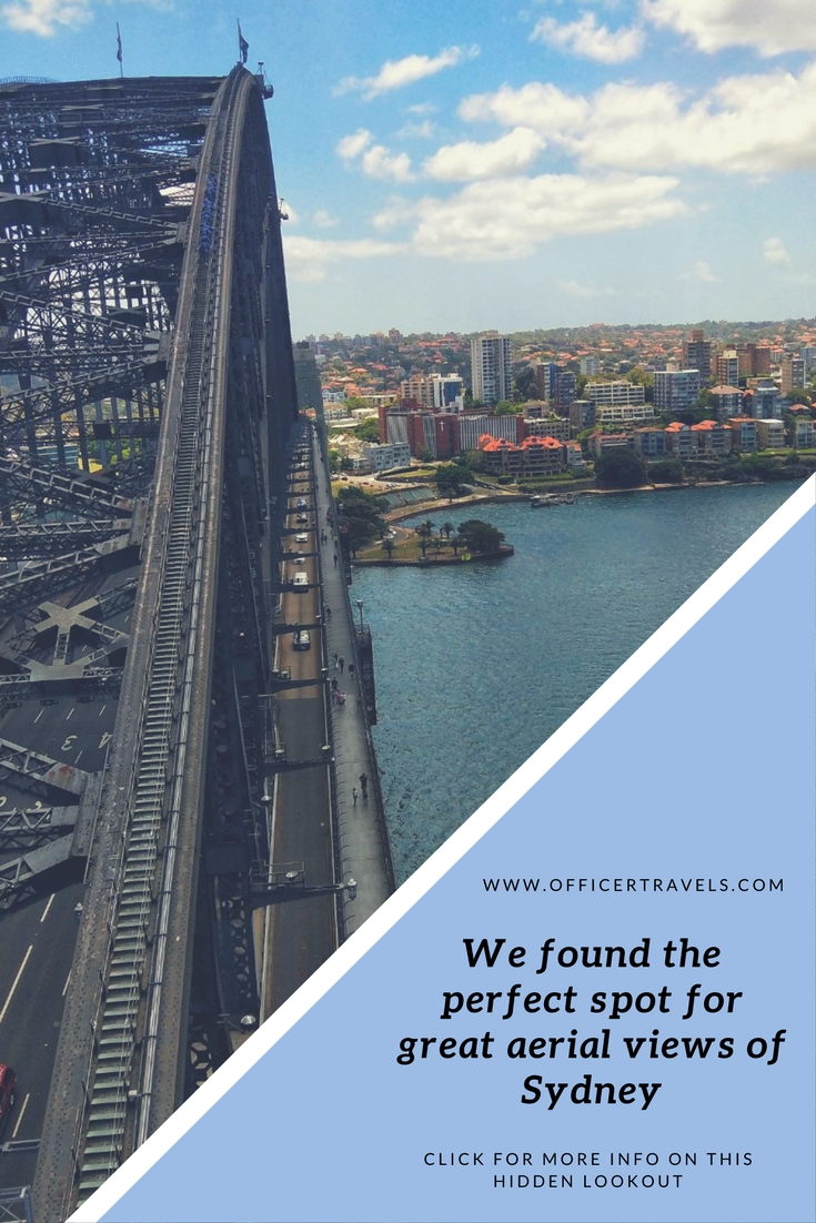 Let us show you the perfect lookout for aerial views of Sydney | #NSWtip #Sydney #Scenicviews #SydneyHarbourBridge