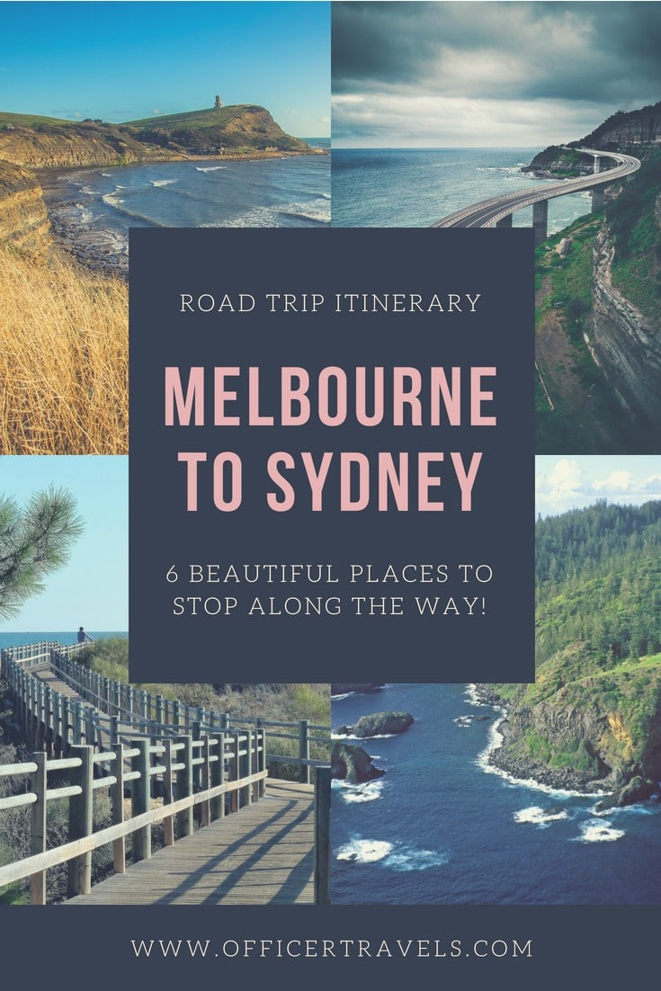 There's so many beautiful places to stop between Melbourne and Sydney it's hard to know where to choose! These are just 6 of our favourites. If you're taking a road trip to Sydney or Melbourne any time soon, you'll love these! | #roadtrip #vanlife #melbourne #visitNSW #victoriatourism #roadtripitinerary