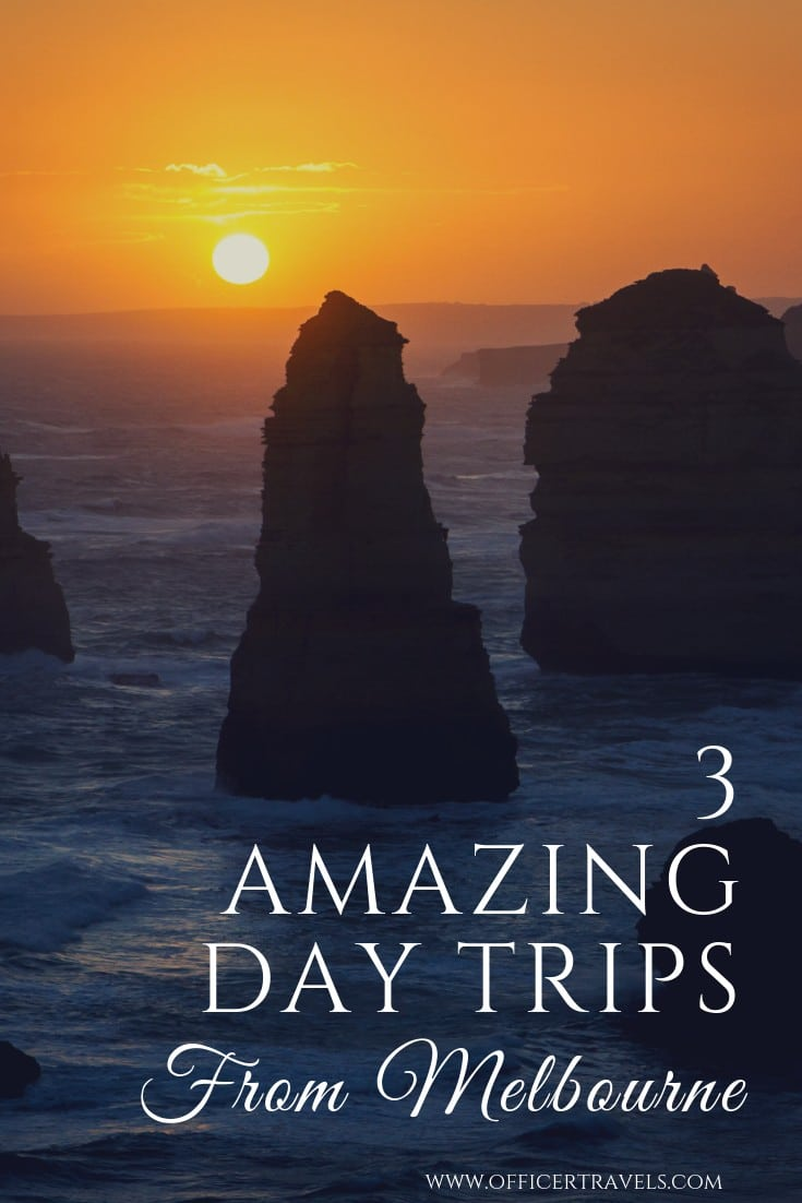 Here are our 3 favourite day trips from Melbourne the you have to do while you're there! Melbourne is an amazing city but it's surrounding areas are pretty cool too. Read this post if you're looking for day trip inspiration or places to visit from Melbourne! | #Melbourne #victoria #daytrips #Australia #VisitVictoria #GreatOceanRoad