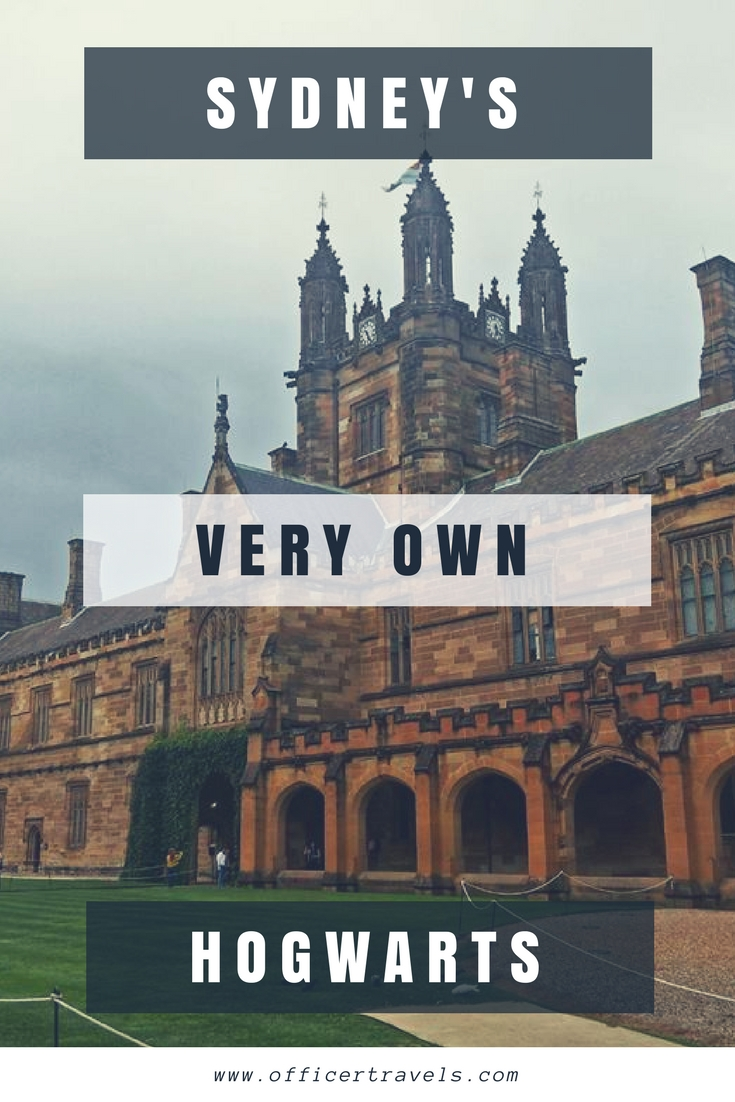 Did you know you can #Hogwarts in Sydney? Here's where you can experience a little #magic in this amazing #HarryPotter #Travelguide #Destinations #Vacation #films
