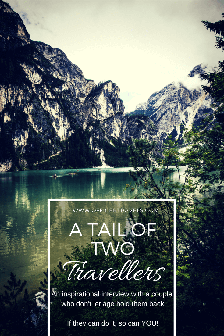 #travel isn't just for the young! read about this #backpacking couple who go against all the #stereotypes. Their #inspirational #travelstories will have your #wanderlust exploding