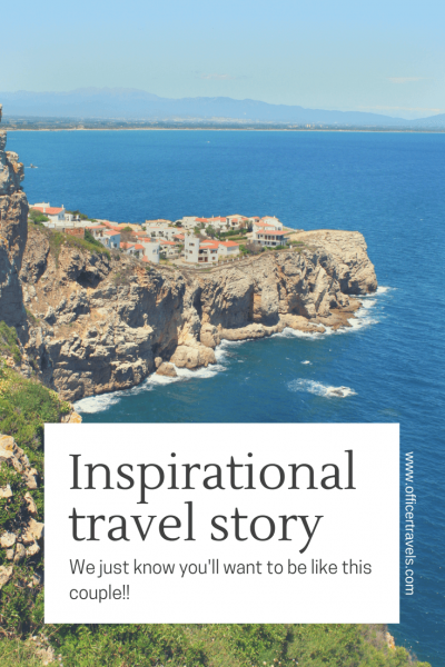 Do you like inspirational #travltails? This #travlinterview about a couple defying the norms will get you wanting to book your next #trip to far off #destinations