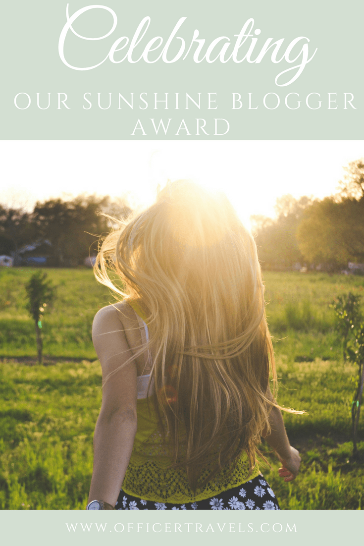 We got #nominated for the #sunshinebloggerawards for our #creative and inspiring #writing. Learn how you can get nominated too and find out who we chose to be awarded next! | #travelwriting #awardwinning #creaticewriting #bloggingaward #sunshineblogger
