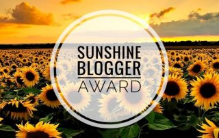 Travel blogger sunshine blogger award
