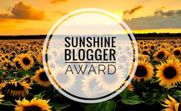 Travel blogger sunshine blogger award