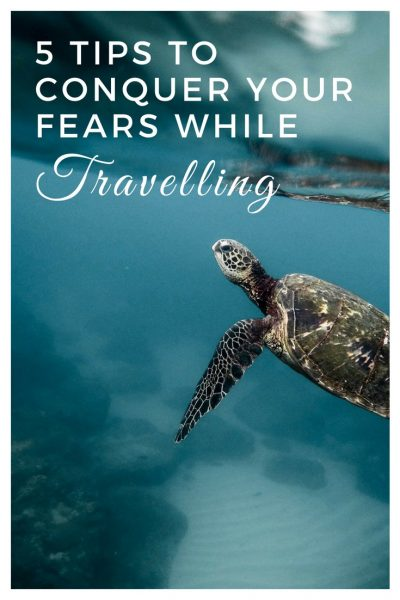 5 tips on conquering your fears while travelling - and an emotional travel diary about snorkelling in Indonesia - #Indonesia #snorkelling #wildturtles #travelguide #selfhelp #facefear #fears #travelinspiration