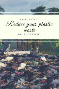 Plastic is taking over our planet, we need to act FAST to fix this. Here are 6 tips on how you can go plastic free or simply reduce your plastic waste while your travelling. #plasticfree #plasticban #saynotothestraw #noplasticstraw #echotraveller #saveourplanet #travelhealthy