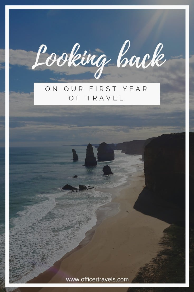We've looked back over our first year of travel to bring you 12 thoughts on what full time travel is like, and what you can learn from it | #travelmemories #reflecting #travelblog #fulltimetravel