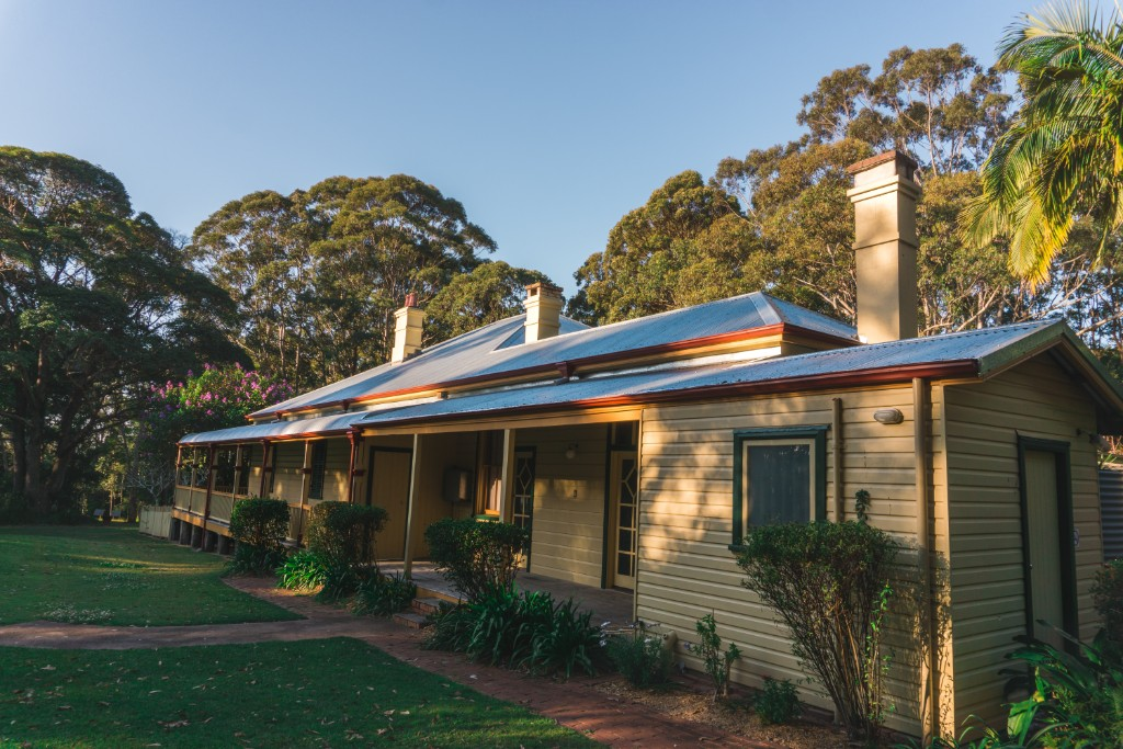 Rotto house is the perfect amusement if your spending a weekend in Port Macquarie