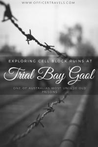 Trial Bay Gaol is a unique part of Australian history for so many reasons. Found out more in our latest post! | #Australianruins #abandoned #NSW