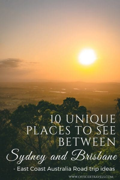 10 unique places to see between Sydney and Brisbane - if you're planning a road trip from Sydney to Brisbane, we''ve put together a list of our favourite unique destinations along Australia's east Coast. From glow worms to abandoned planes, there's something for everyone. | #roadtripaustralia #eastcoast #roadtrip #brisbane #sydney #NSWtips #thisisqueensland