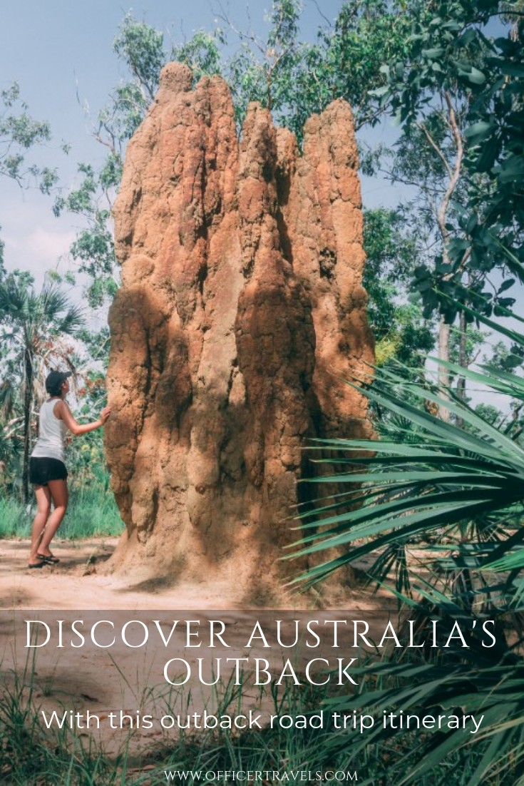 The outback is full of natural wonders, and you'll get to see them with our road trip itinerary.   #Australia #outback #roadtrip #northernterritory #thingstodoinaustralia #australiaguide