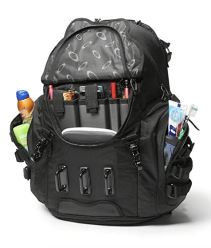Oakley 34ltr backpack inside view