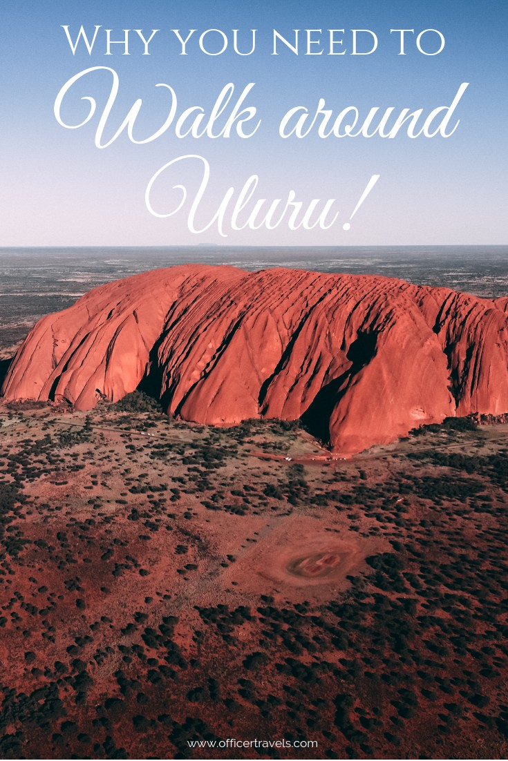 Not sure what to expect from the Uluru Base Walk in Australia's Red Centre? Here's a clue: some amazing scenery, outback wildlife and a whole heap of culture! Walk with us as we discover what lays around the base of Uluru! | #Uluru #OutbackAustralia #alternativedestinations #northernterritory #visitAustralia #destination #Australia