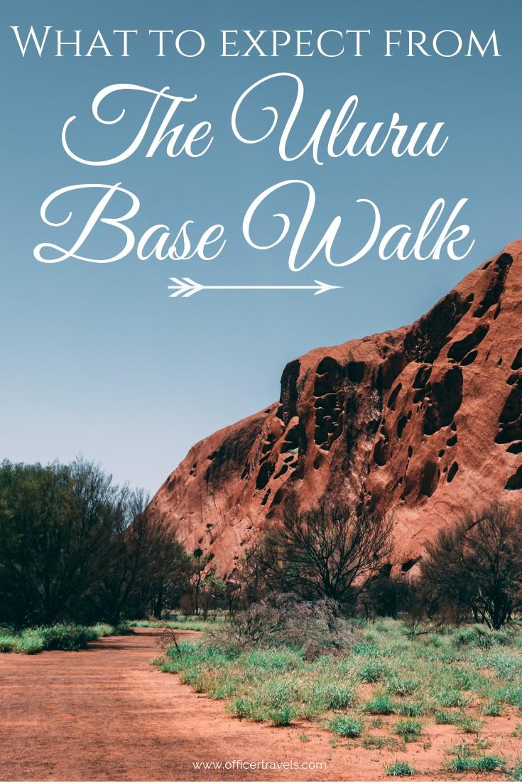 Discover the history and culture around Australia's most iconic landmark on the 10.6km walk around Uluru's base | #walking #Uluru #Ayresrock #redcentre #australianoutback
