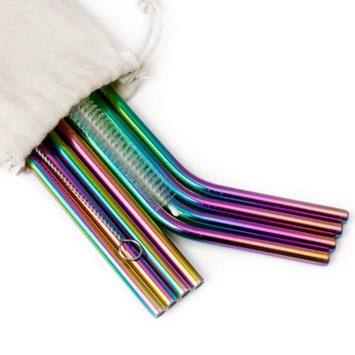 eco-friendly reusable straws
