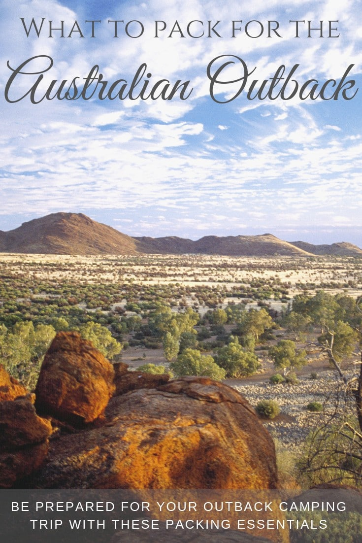 Be prepared for the Australian outback with this packing list! #packinglist #whatotpack #australia #travelguide #travelguide #seeaustralia #outbacktravel #centralaustralia #checklist