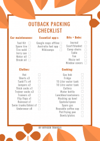 an outback camping checklist to make sure you're prepared for what the outback can throw at you! | #outbackcamping #camping #adventure #australia #outback #redcetre #travel #adventuretravel #campingtrip