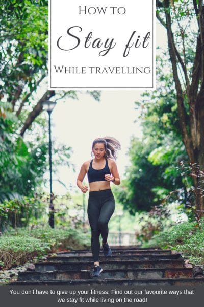 staying fit while living in a van doesn't have to cost a fortune in Gym memberships and equipment! Here are our 5 favourite ways to stay fit on the road, while sticking to a budget! | #Budgetfitness #fittness #travelbudget #travelfit #howtostayfit #healthyliving #travelfitness #vanlife #howtotravel #budgetvanlife | How to stay fit while travelling, how to keep healthy while travelling, staying fit on the road, healthy travelling ideas |
