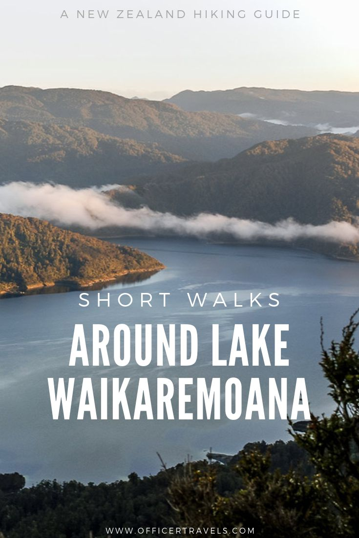 Want to see Lake Waikaremoana but don't have much time? Here are our favourite short walks that will give you the best views over this amazing lake! #lakes #NewZealand #PureNz #NationalParks #travelguide