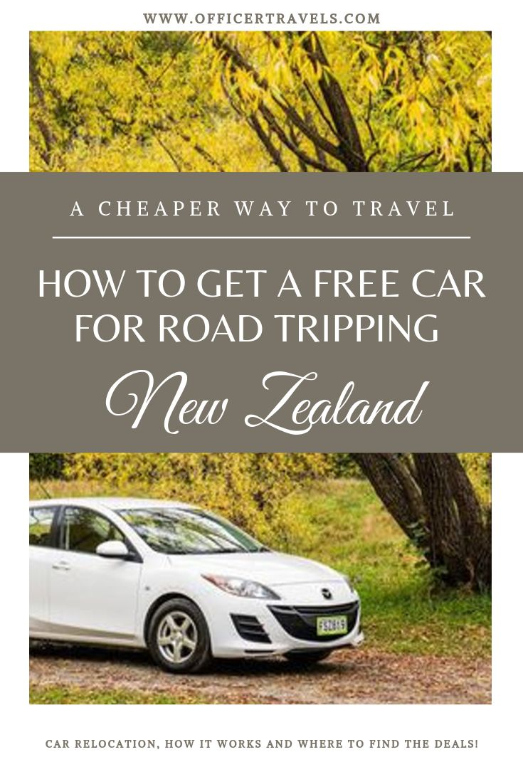 Did you know there's a way to get a car for road tripping New Zealand FOR FREE? We travelled from Auckland to Queenstown for under $500 including fuel, ferry and accommodation - find out more here! #budgettravel #NewZealand #travelnewzealand #travelguide #roadtrip