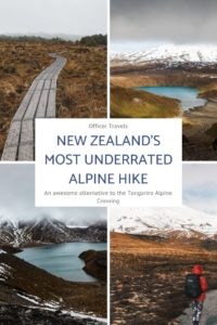 We all know about the Tongariro Alpine Crossing, but what do you do when that closes in the winter? Well. Here's a perfect winter alternative that's just as stunning but not as busy! | #NewZealand #Travelguide #hiking #nationalpark