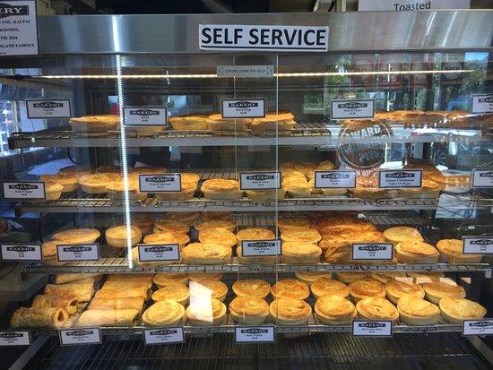 The Doughbin has the best award winning pies in Wanaka