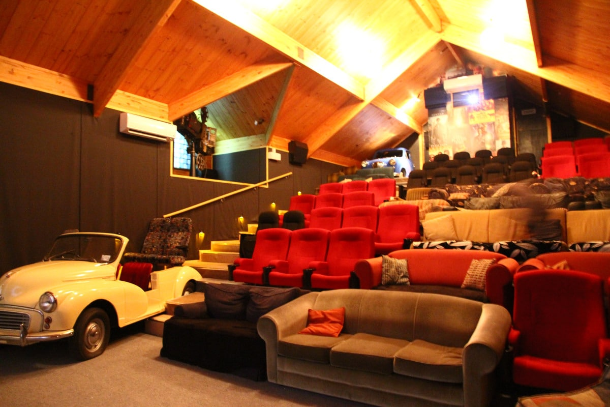 Looking for one of the quirky things to do in Wanaka? The Paradiso cinema is just that!