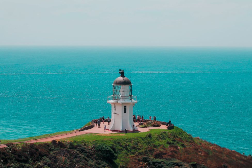 Landscape image of our favourite places to visit on New Zealand's North Island - Cape Reinga