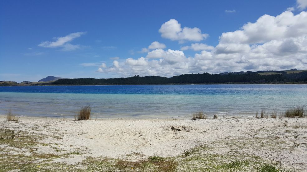 Kai Iwi Lakes make the perfect place to visit on New Zealand's North Island if you're looking for a quiet and secluded spot for places to visit on New Zealand's North Island