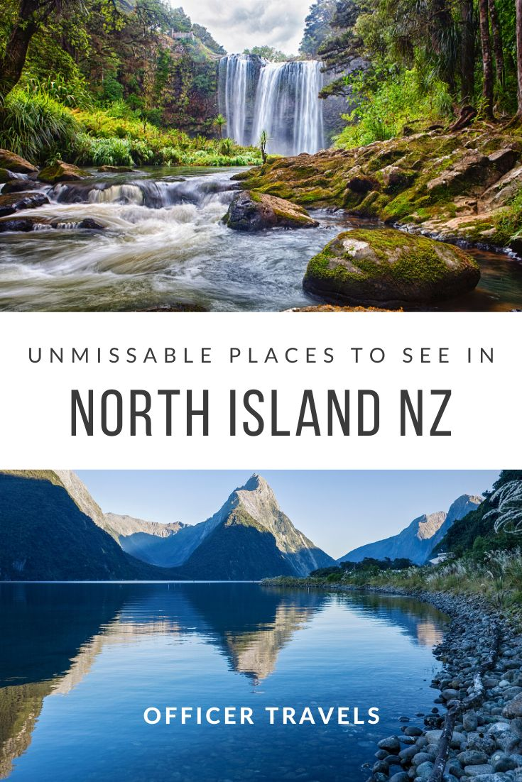 20 unique places to visit on New Zealand's North Island. We've put together a unique itinerary to help you make the most of your time on the North Island | #NewZealand #NorthIsland #travel #NZ #Itinerary | things to do in New Zealand, New Zealand Road Trip, Travel guide New Zealand