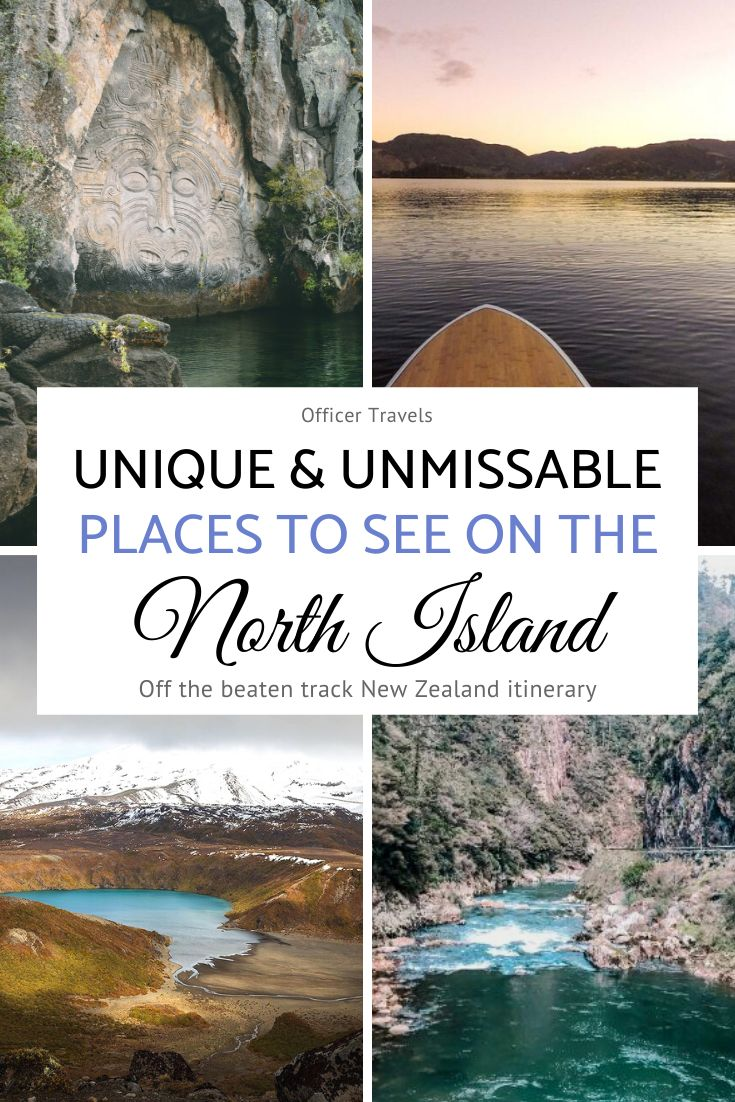 20 unique places to visit on New Zealand's North Island. We've put together a unique itinerary to help you make the most of your time on the North Island   #NewZealand #NorthIsland #travel #NZ #Itinerary   things to do in New Zealand, New Zealand Road Trip, Travel guide New Zealand