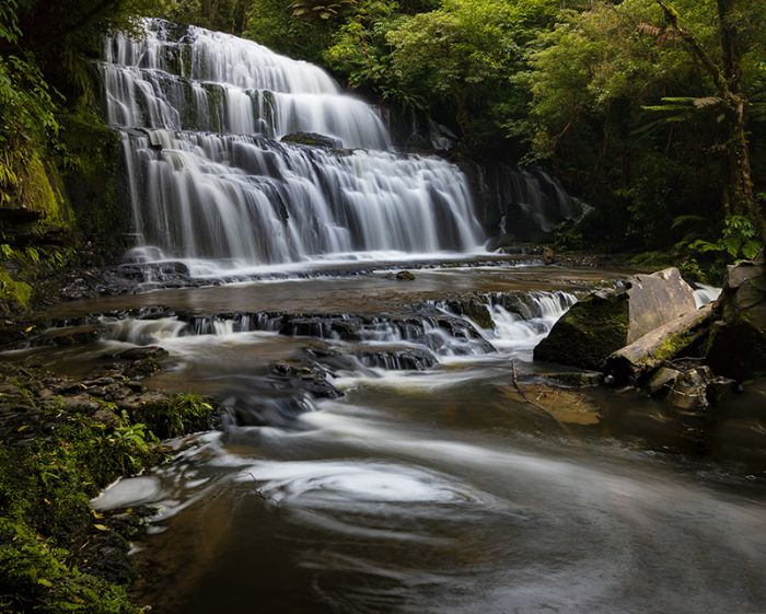 See Purakanui Falls on your road trip through the Catlins